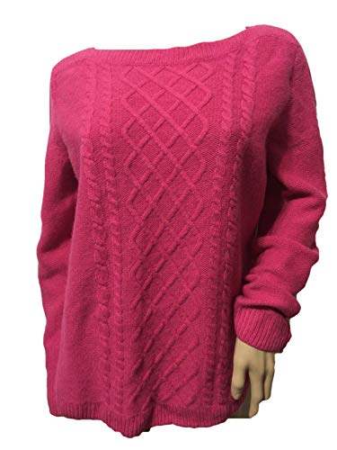 Talbots Center-Cable Bateau Sweater Pullover Tunic Size ()