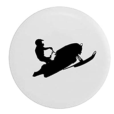 Pike Snowmobile SnowCross Racing Trailer RV Spare Tire Cover OEM Vinyl