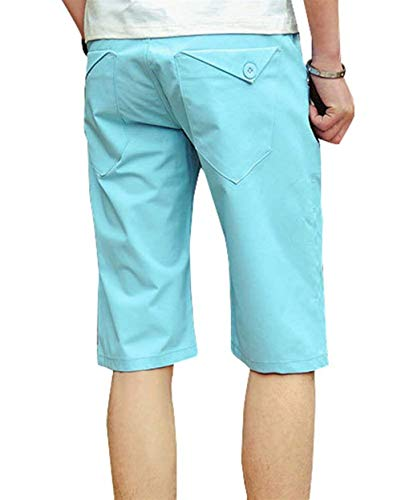 Bermuda Fit Himmelblau Loisir Décontracté Jogging Fashion Pantalon Lannister De Vêtements Fête Chino Hommes Shorts Slim Court Pour Business Short UqaUBwn0f