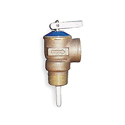 T and P Relief Valve, 1/2 In. Inlet from APOLLO