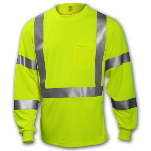 Tingley Rubber S75522 CL3 Long-Sleeved T-Shirt with Pocke...