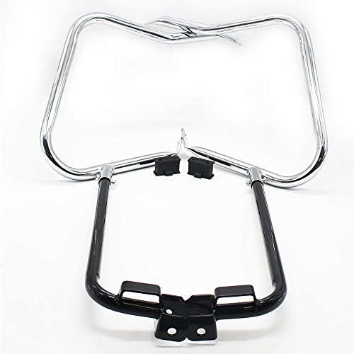 Saddlebag Bracket Guard Bars For Harley Touring Street, used for sale  Delivered anywhere in USA