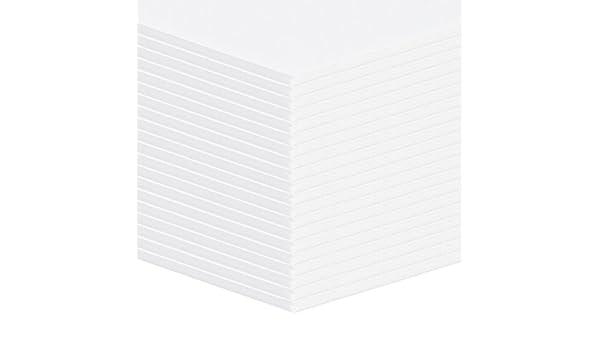 20 unidades Altera ligeramente placas de espuma, placas de plástico blanco Formato: A2 (42 x 59,4 cm): Amazon.es: Oficina y papelería