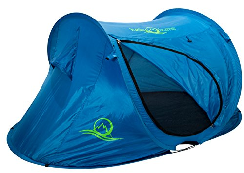 Price comparison product image Lucky Bums Quick and Portable Camp Tent, Blue