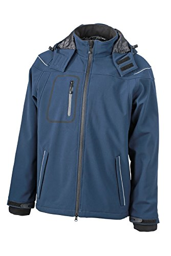 James & Nicholson Herren Winter Softshell Jacke / Men´s Winter Softshell Jacket JN1000