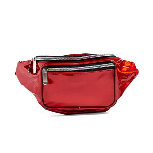 C.T.Soarsky Fashion Hologram Laser Waist Bag Fanny Pack Zipp