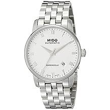 Mido Men's MIDO-M86004261 Baroncelli Analog Display Swiss Automatic Silver Watch