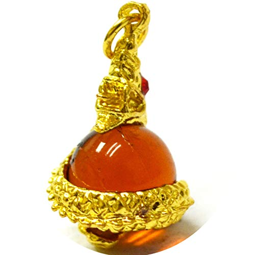 Thai Jewelry Pendant Naga Ball Thai Amulet Good Luck,Fortune and Powerfull for Life