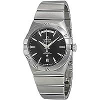 Omega Constellation Chronometer Black Dial Men's Watch