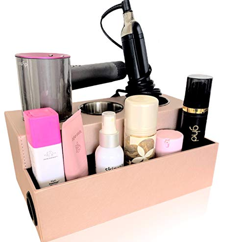 IKORA Hair Dryer Tool Holder - Bathroom Storage & countertop Organizer - Curling Iron, Straightener, Blow Dryer Stand…