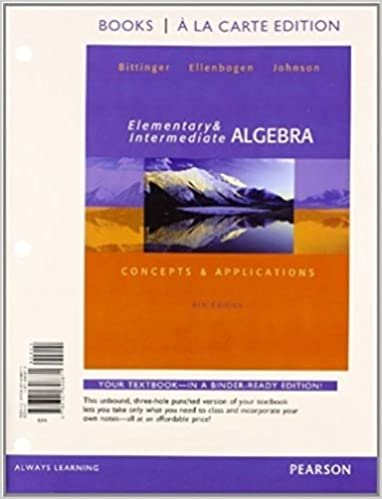 Elementary and intermediate algebra concepts and applications elementary and intermediate algebra concepts and applications books a la carte edition plus mylab math access card package 7th edition 7th edition fandeluxe Image collections