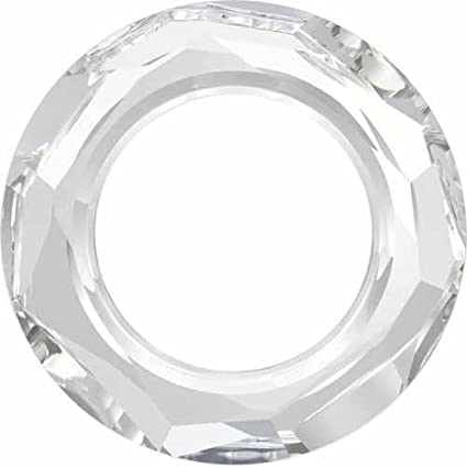 5cef6da6acc0b 4139 Swarovski Fancy Stones Cosmic Ring | Crystal UNFOILED | 20mm - Pack of  24 (Wholesale) | Small & Wholesale Packs