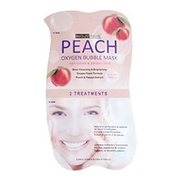 BEAUTY TREATS Peach Oxygen Bubble Mask - Peach SALLY HANSEN Colorfast Tint + Moisture Balm - Health Nut