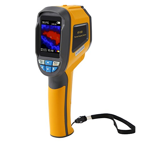 Thermal Imager Handheld (Koolertron Handheld Portable Infrared Thermal Imager & Visible Light Camera with IR Resolution 3600 Pixels/1024 Pixels Thermal Imager Camera (1024 Pixels))