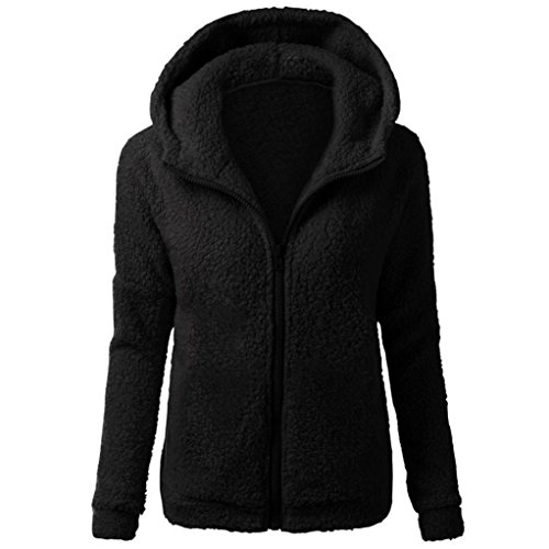 Victorcn Women Soild Hooded Coat Winter