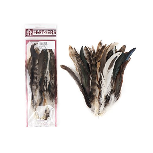 (Zucker Feather (TM) - Rooster Coque Tails-Chinchilla Natural)