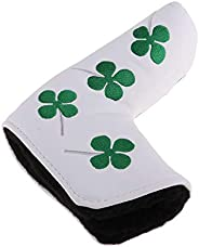 #N/A Waterproof Golf Putter Head Covers Fit for - White A