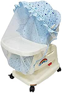 بيبي لوف كرسي هزاز للاطفال  ، للجنسين ، ازرق ، 33-RX01