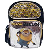 """Despicable Me Minion 16"""" inches Backpack - NEW Licensed - Bellow!"""