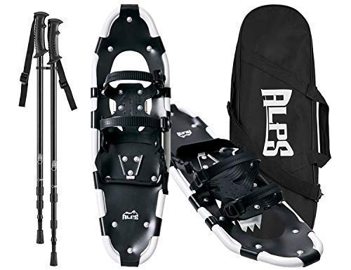 an Snowshoes set for Men,Women,Youth with Trekking Poles,Carrying tote Bag 25