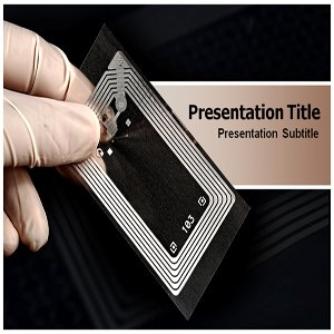 Amazon Com Rfid Tag Powerpoint Template Rfid Tag Powerpoint Ppt
