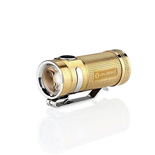 Olight Lumens Flashlight%EF%BC%88SMINI Brass%EF%BC%89 Battery