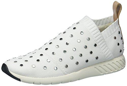 Dolce Vita Women's Bruno Sneaker, White Knit, 9 Medium US by Dolce Vita