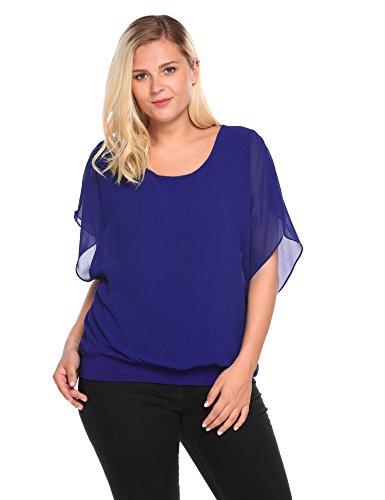 Womens Casual Sleeve Chiffon T shirt product image