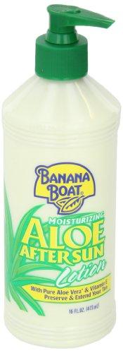 Banana Boat Aloe Vera Sun Burn Relief Sun Care After Sun Lotion - 16 Ounce (Pack of 4) by Banana Boat (Image #3)