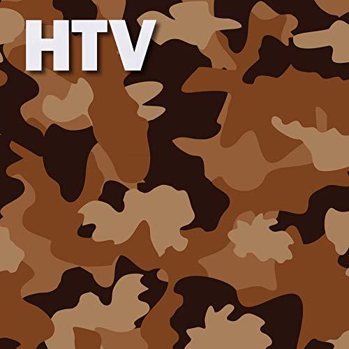 (Camo Military Pattern HTV, 12