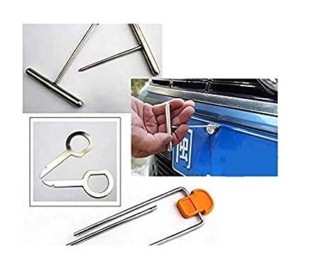 4 x Herramienta Coche Car Puerta Palanca Reparaci/ón Instalaci/ón 1#