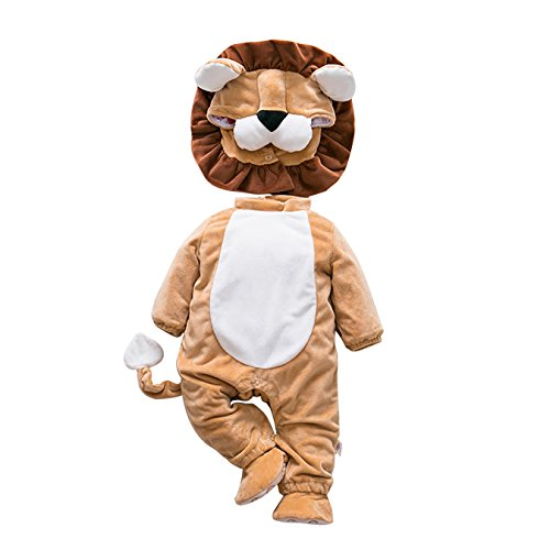 DAYU WORLD Toddler Baby Lovable Jumpsuit (Lovable Lion Infant & Toddler Costumes)