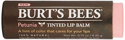 (Burts Bees Tinted Lip Balm, Petunia, 0.15 Ounce (3 Pack))
