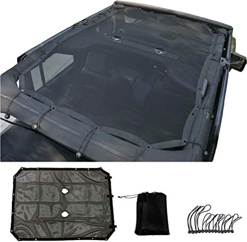 Jeep Mesh Sunshade Top Protection product image