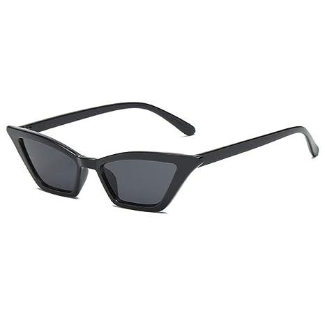 Yangjing-hl Gafas de Sol Retro de Gran tamaño para Mujer ...