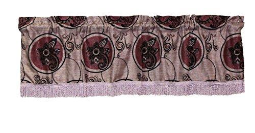 Violet Linen Tivoli Window-Treatment-valances, 60