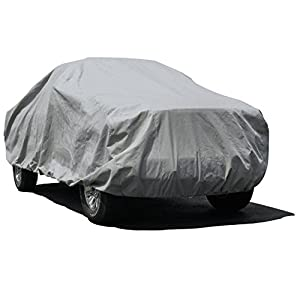 Budge Lite Truck Cover Fits Truck with Long Bed Standard Cab Pickups up to 228 inches, TB-4 - (Polypropylene, Gray)