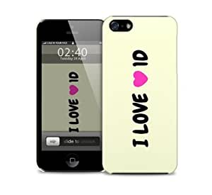 i love 1 directio 1d iPhone 5 / 5S protective case