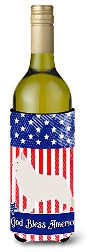 Caroline's Treasures BB8373LITERK Berger Blanc Suisse American Decorative Bottle Hugger, 750 ml, ()