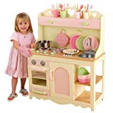 Kidkraft Wooden Cottage Kitchen with 28 Piece Accessory Set