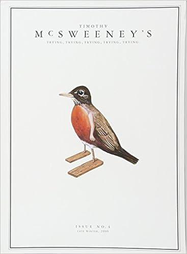 Book McSweeney's Issue 4