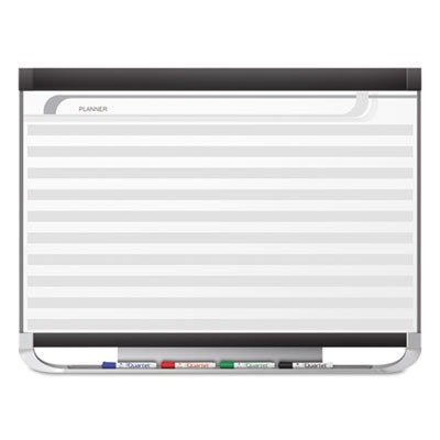 Quartet Prestige 2 Magnetic DuraMax Porcelain Planning System, 6' x 4' Board with Horizontal Lines (PP164P2)