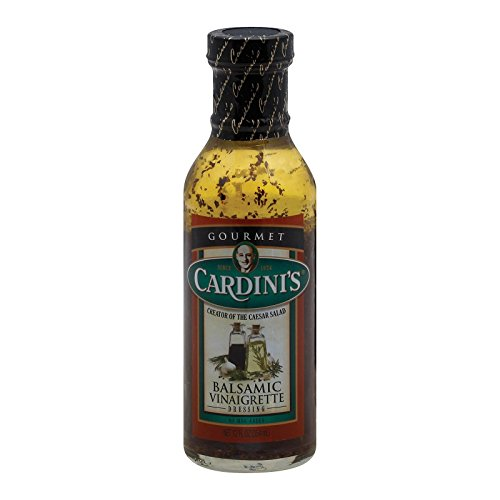 Cardini dressing Vinaigrette Balsamic, 12 oz (Best Store Bought Caesar Dressing)