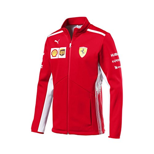 (PUMA Ferrari Team Softshell Jacket Compatible)