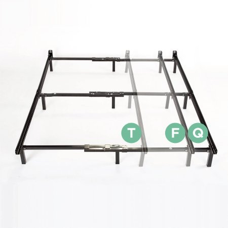 Spa Sensations Compact 7'' Adjustable Metal Bed Frame by Spa Sensations