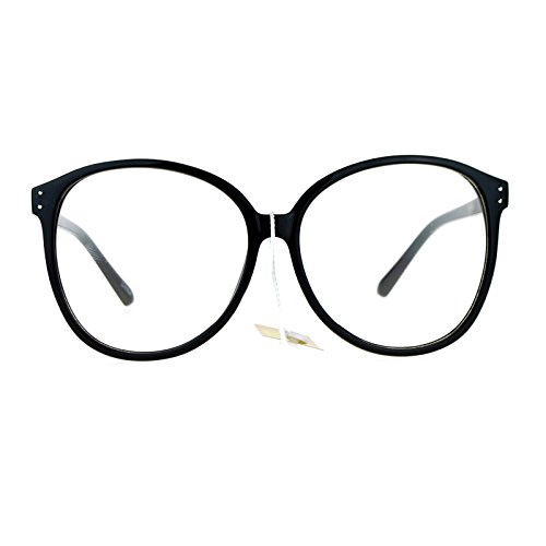 SA106 Womens Oversize Manga School Girl Nerdy Eye Glasses - Nerdy Glass