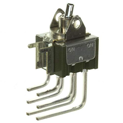 SWITCH ROCKER DPDT 6A 125V (Pack of 5) (M2022TXW41) by NKK Switches