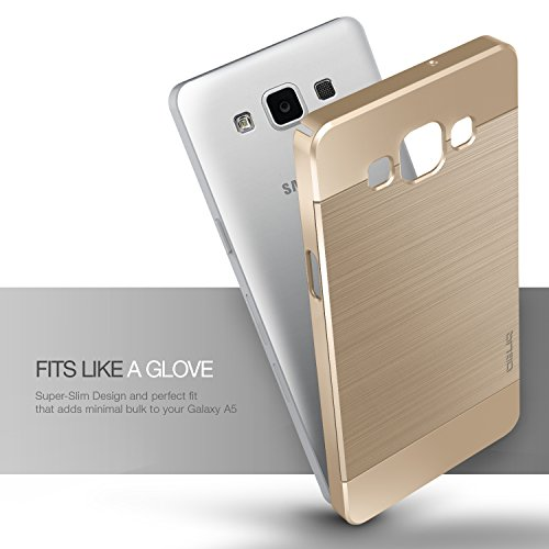 low priced 35640 7c78b Galaxy A5 Case, OBLIQ [Slim Meta][Champagne Gold] – [Ultra - Import ...