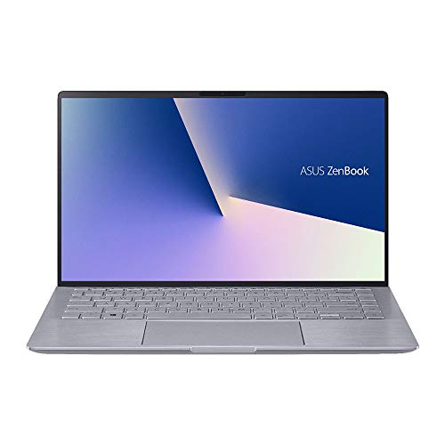 "2020 ASUS Zenbook 14"" FHD Ultra-Light&Thin Laptop Computer, AMD 4th Gen Ryzen 5-4500U, 8GB RAM, 256GB PCIe SSD, Backlit Keyboard, NVIDIA GeForce MX350, HD Webcam, Win 10, Gray, 32GB Snow Bell USB Card"