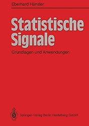 Statistische Signale: Grundlagen und Anwendungen